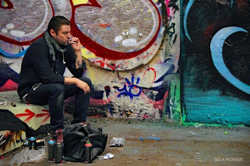 Graffiti break