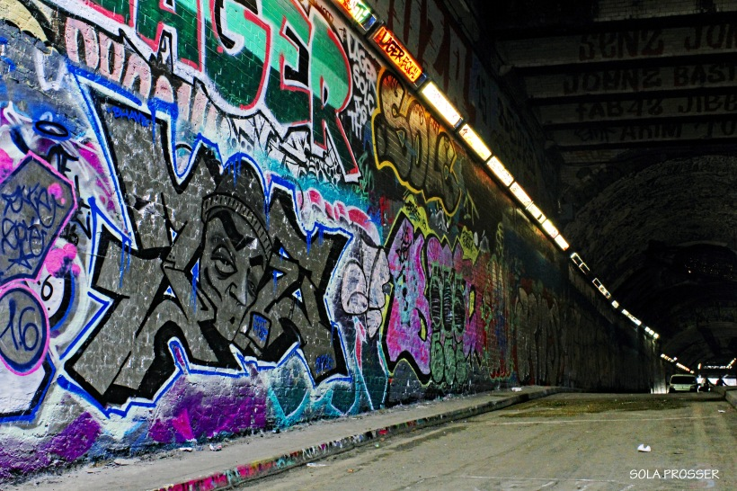 Definitely one of the best places to see graffiti and street art in London