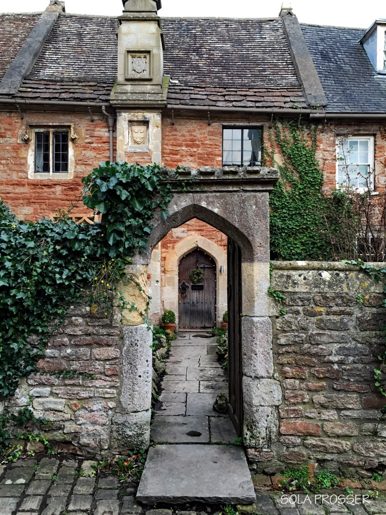 Door way at Vicars' Close, Wells.