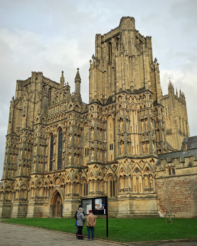 Wells Cathedral - An architectural masterpiece.