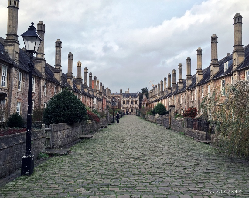 This intimate looking street is a significant landmark in Somerset.