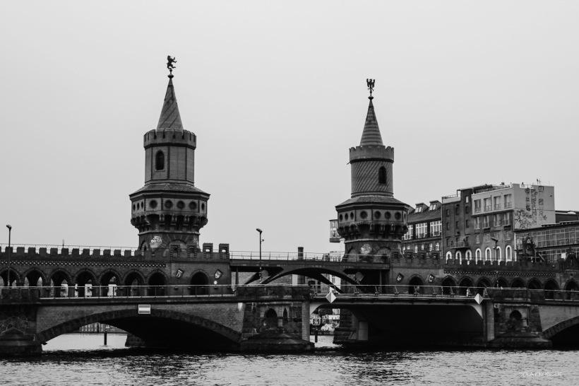 Oberbaum Bridge - one of the city's well known landmark's