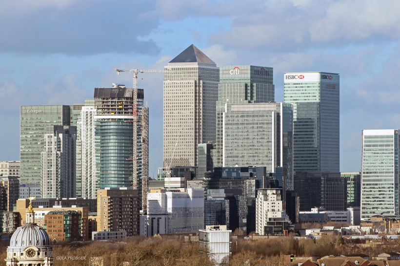 London's city skyline