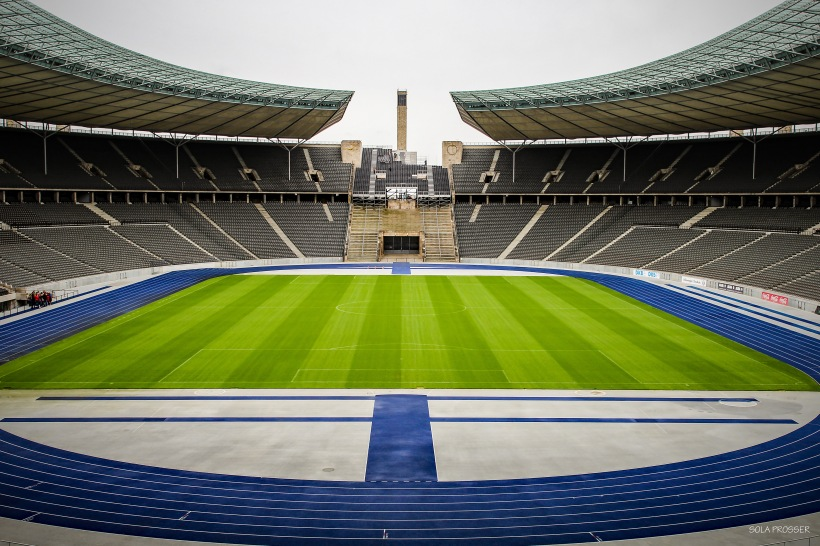 Inside the Olympic Stadium - Olympiastadion Berlin