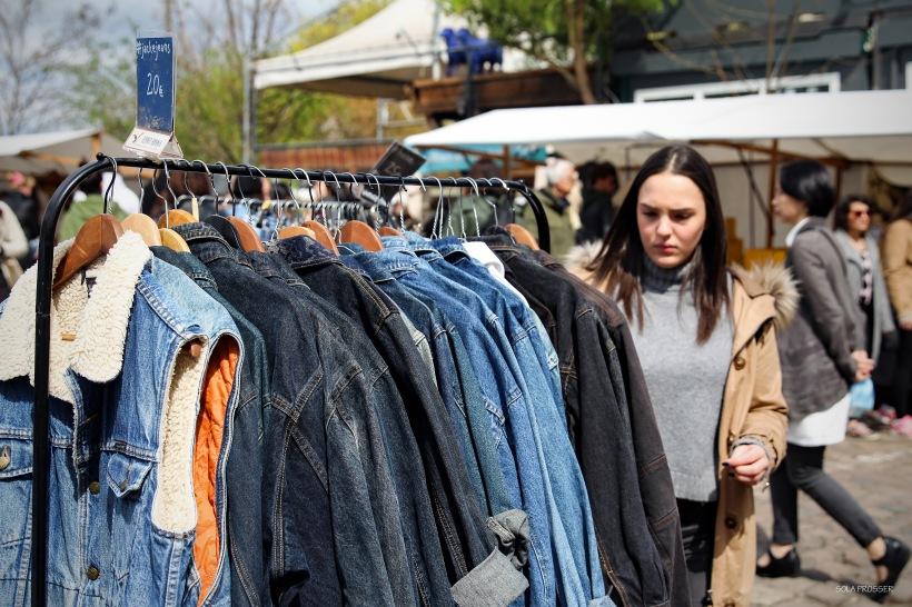 A market in Berlin