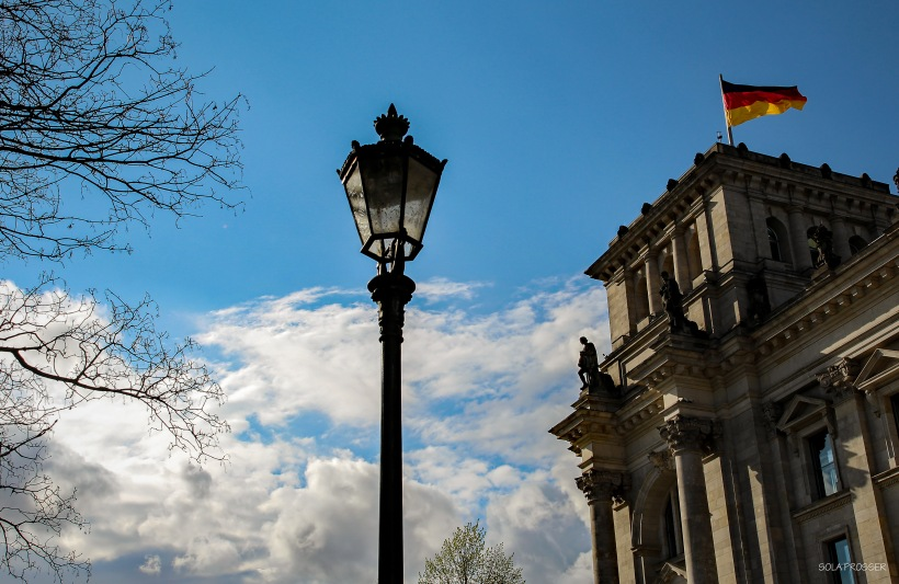 Reichstag building - Berlin's parliamentary building
