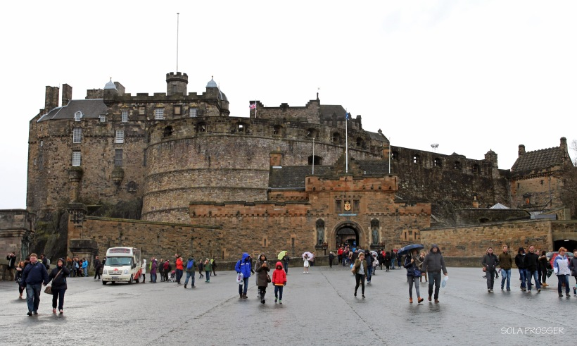 Edinburgh Castle - a historic fortress