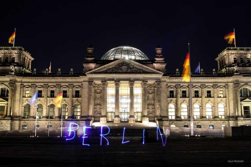 Reichstag Building - Berlin's parliamentary and government building