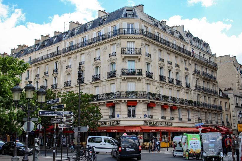 Beautiful structures are in abundance in Paris