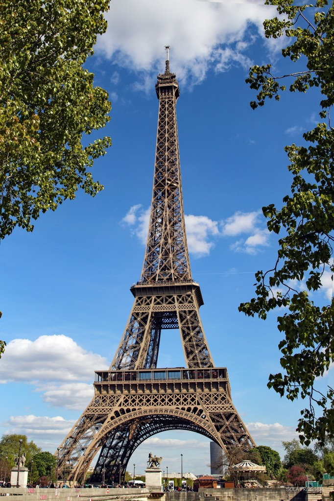 The beauty that is the Eiffel Tower.
