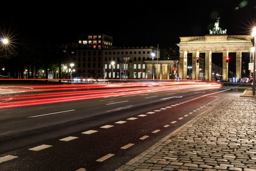Brandenburgh Gate - This used to be a symbol of a divided city where Berliners would climb to get a glimpse of the outside world. This used to separate people from the East to the Western part of Berlin