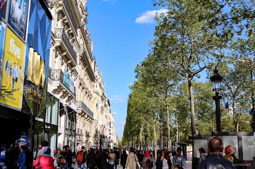 The Champs Elysées