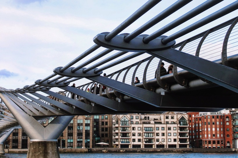 I just can't get enough of the Millennium Bridge